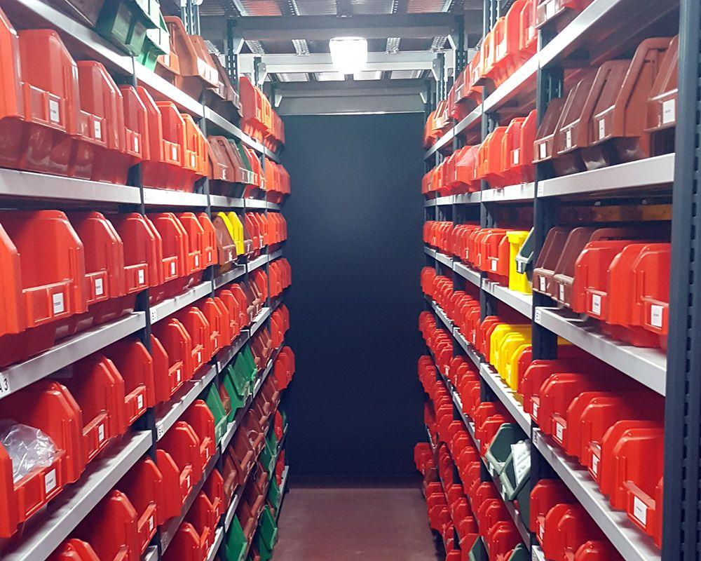 Ampliamento magazzino