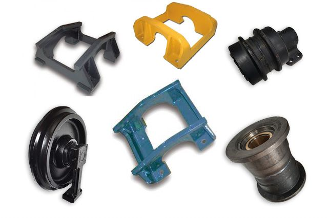 Track guards and Undercarriage parts - macchine movimento terra